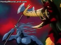 fantastic hentai episode with engulfing rigid