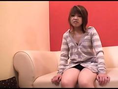 cum loving azusa miyakawa has her hands and face