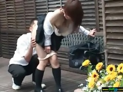 outdoor hardcore sex act with oriental angels