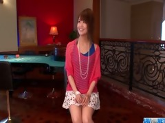 maika gives a japan cutie oral-stimulation and