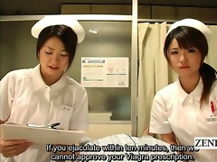 subtitled cfnm japanese nurses hospital cook