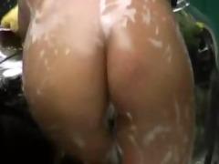 hot oriental gal car wash