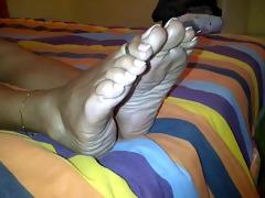 very older indian feet