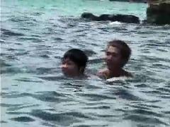 swim team boys
