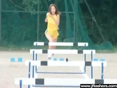 cute asian hot gal show body and fuck outdoor