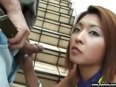 oriental angel flash body and acquire hard sex