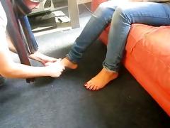 female-dominant nia - indian femdom - hindi foot