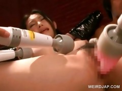 sex serf oriental gets muff vibed to agonorgasmos