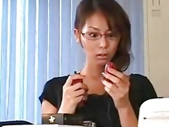 horny japanese teacher s pussy hammered down...f13