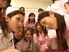 oriental nurses have a fun sex on top part10