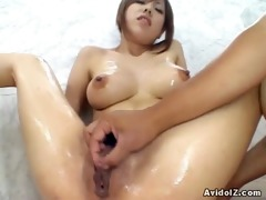 huge tits bitch miu satsuki masturbation