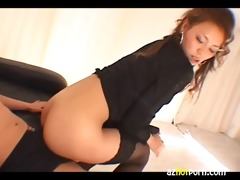 azhotporn.com - oriental piston cowgirl with