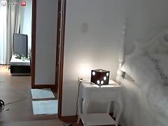 korean hotty stripping on webcam
