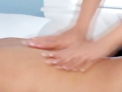 oriental masseuse relaxes her sexually excited