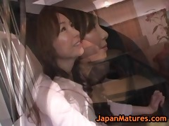 oriental cutie is undressed on educational part9