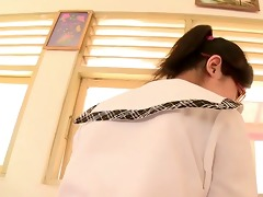 softcore oriental schoolgirl brassiere panty