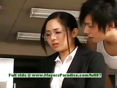 sora aoi blameless naughty oriental secretary