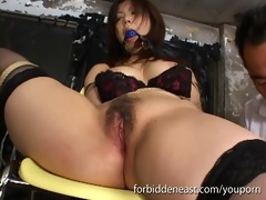 japanese shibari slavery with insertion dildos