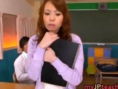 eri ouka enchanting oriental teacher enjoys cock