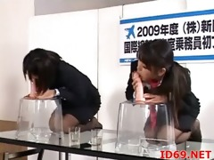japanese av model has cum dripping out