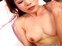 astonishing breasty oriental chick getting