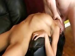oriental whore bizarre face fucking interracial