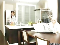 omoe hinatsu cooks up sex in the kitchen part3