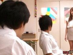 aarisa sawa is japanese teacher doxy part5