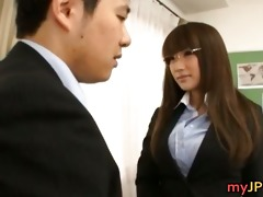 kirara kurokawa japanese teacher sucks part5