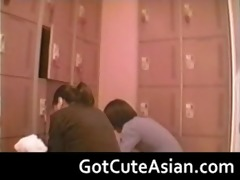 voyeur japanese nubiles in the locker room