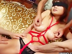 hawt oriental honey bounded and felt out