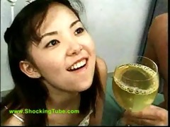 little oriental void urine bitch