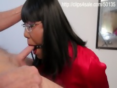 oriental crossdresser ring gagged for dick