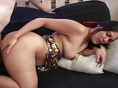 indian wife bows over and receives hard from