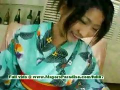 megumi haruka virginal enjoyable japanese cutie
