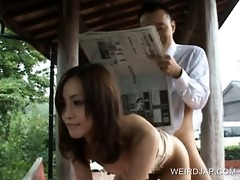 japanese bitch team-fucked by lewd guy on the