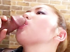 breasty oriental playgirl group-fucked
