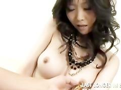 japanese floozy playing dildo