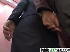 in public hawt oriental receive hard nailed vid-59