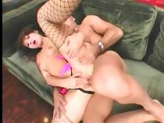 oriental anal slut acquires cum on her face