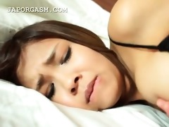raunchy teasing for hot japanese hottie in