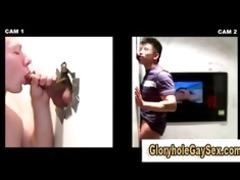 homo sucks str oriental guys penis