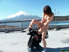 oriental hawt beauty love fucking outdoor vid-16