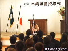 japanese babe during graduation part1
