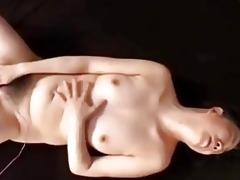 japanese granny plays alone