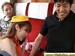 groupsex with oriental stewardesses