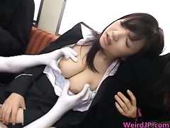 wang hungry oriental whores engulfing and fucking