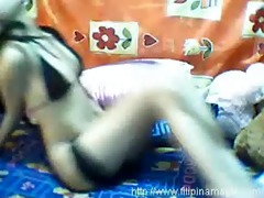 filipina webcam cutie - solo action 8814