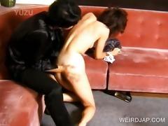 oriental slave receives bawdy cleft fingered hard