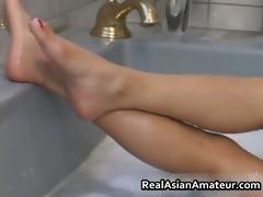 my asian gf in bathtub 6 by caughtexgf